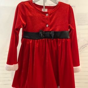 Girls 3T Christmas Dress.